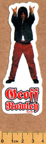 Flip Geoff Rowley Skateboard Sticker - SkateboardStickers.com