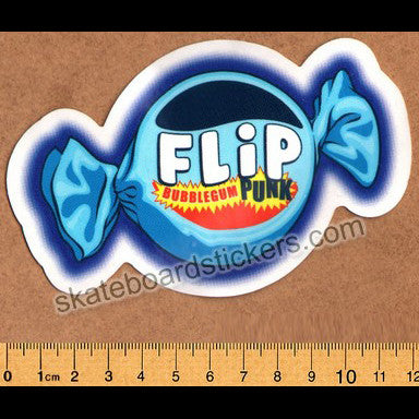 Flip Skateboard Sticker - Bubblegum Punk
