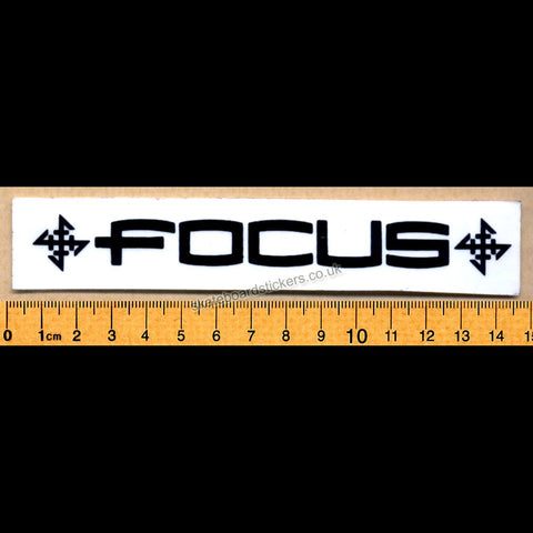 Focus Old School Rare Vintage Skateboard Sticker - SkateboardStickers.com