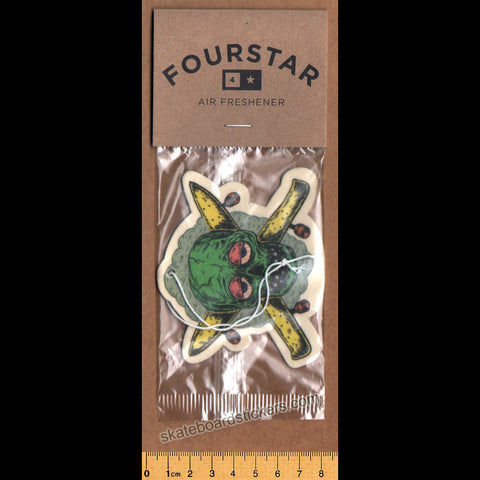 Fourstar Air Freshener - Stoney - SkateboardStickers.com