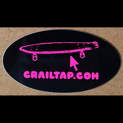 Girl / Crailtap Skateboard Sticker