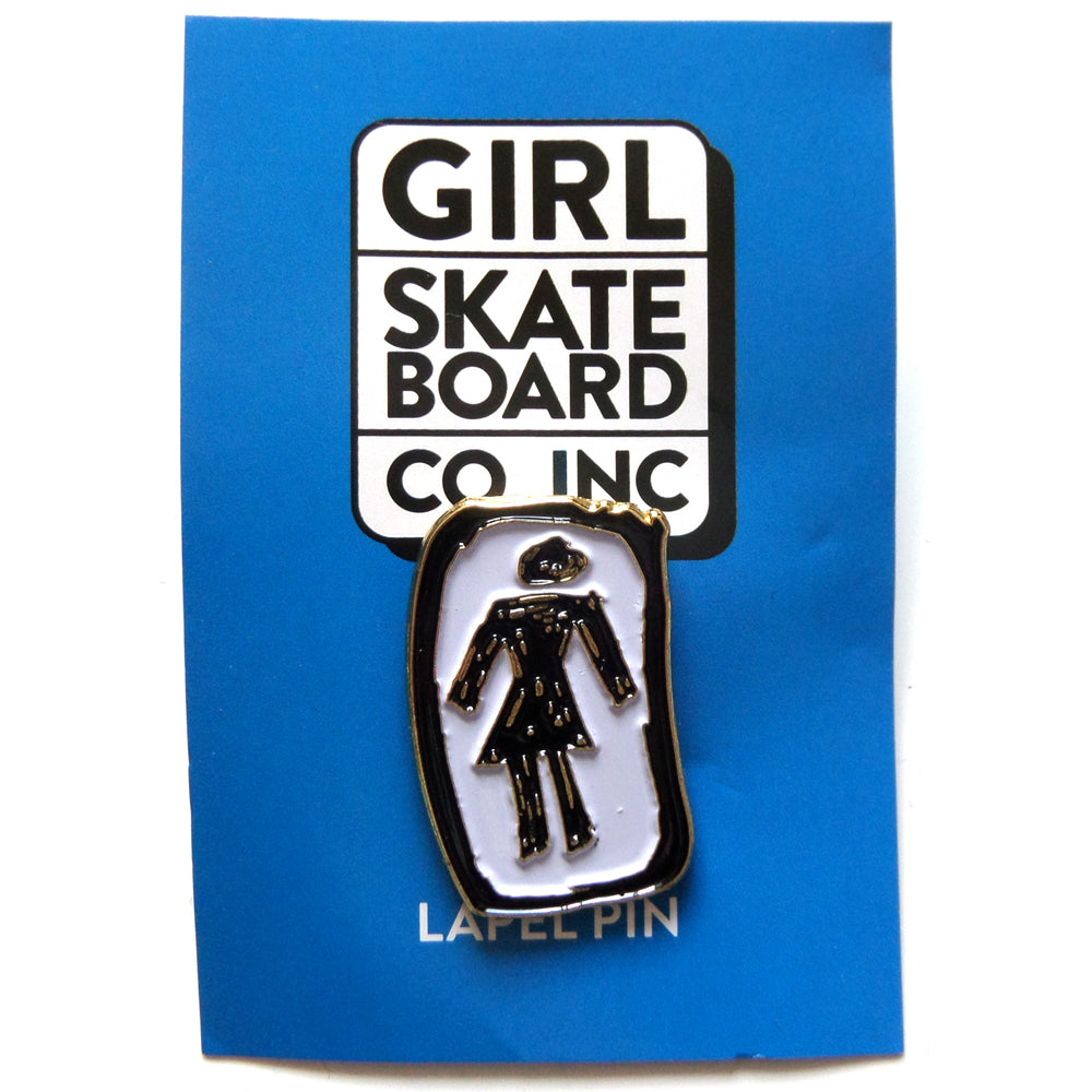 Girl Skateboards Push Back Pin Skateboardstickers Com