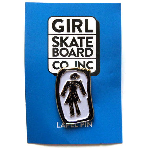 Girl Skateboards Push Back Pin