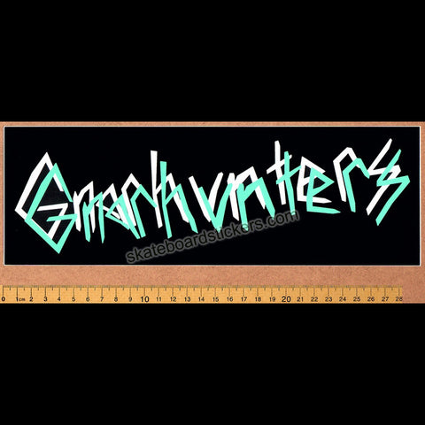 Gnarhunters Skateboard Sticker - SkateboardStickers.com