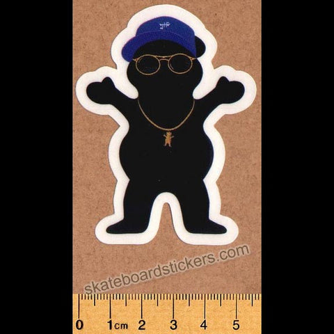 Grizzly Griptape Bear Skateboard Sticker
