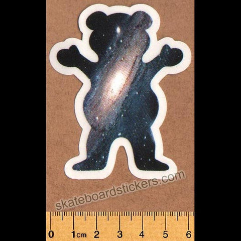 Grizzly Griptape Skateboard Sticker