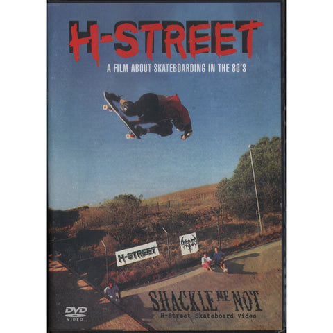 H-Street - Shackle Me Not DVD - SkateboardStickers.com  - 1