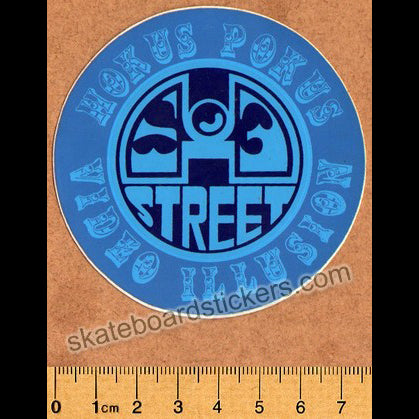 H-Street Old School Skateboard Sticker
