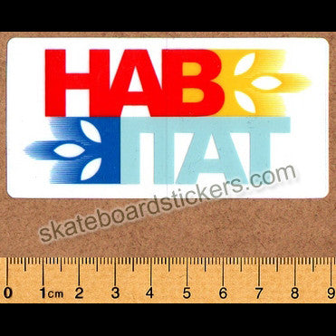 Habitat Skateboard Sticker - SkateboardStickers.com