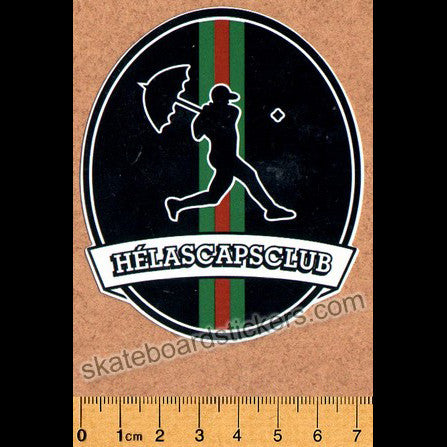 Helas Skateboard Sticker - SkateboardStickers.com