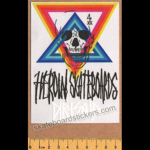 Heroin Skateboards Skateboard Sticker