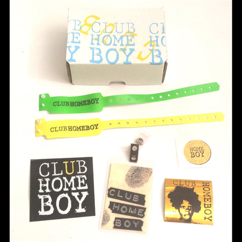 Club Homeboy Membership pack