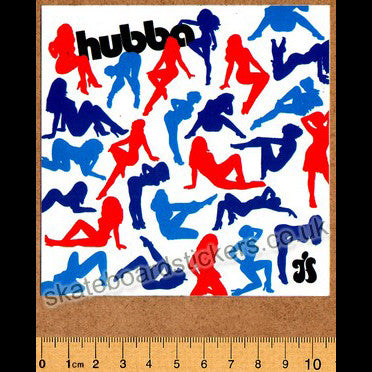 Hubba Skateboard Sticker - SkateboardStickers.com