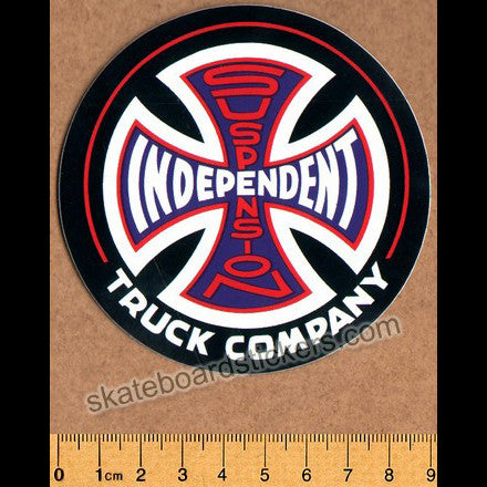 Independent Trucks Company Suspension Sketch Skate Sticker - SkateboardStickers.com