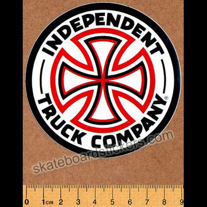 Independent Trucks Skateboard Sticker 9cm - SkateboardStickers.com