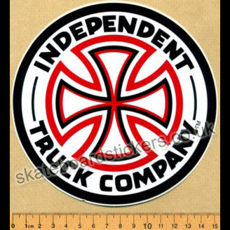 Independent Trucks Skateboard Sticker - Medium - SkateboardStickers.com