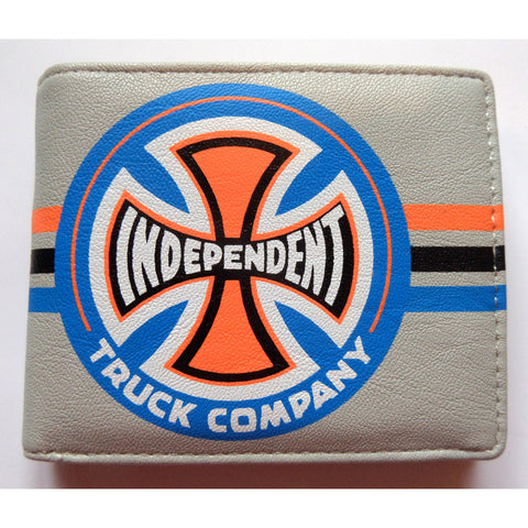 Independent Trucks Stripes Wallet - SkateboardStickers.com  - 1
