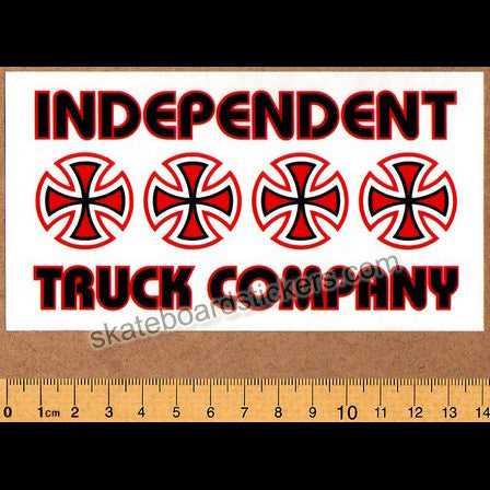 Independent Trucks - Stacked Skateboard Sticker