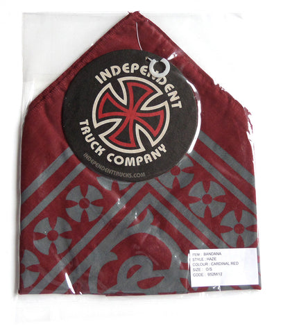 Independent Trucks Bandana - Haze Red - SkateboardStickers.com  - 1