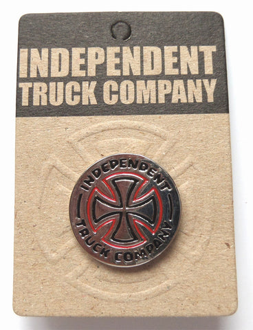 Independent Trucks Iron Cross Push Back Pin - SkateboardStickers.com  - 1