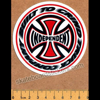 Independent T/C Blaze Skateboard Sticker - Regular