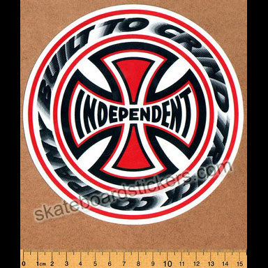 Independent T/C Blaze Skateboard Sticker - Large