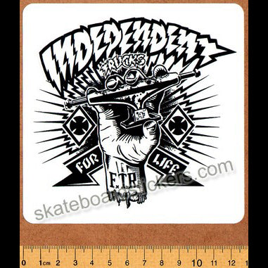 Independent Truck Co Skateboard Sticker - Shredded