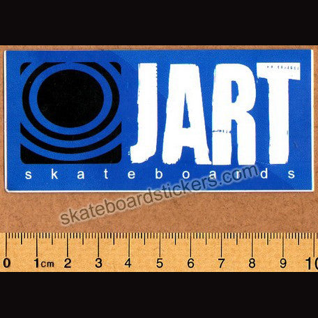 Jart Skateboard Sticker - SkateboardStickers.com