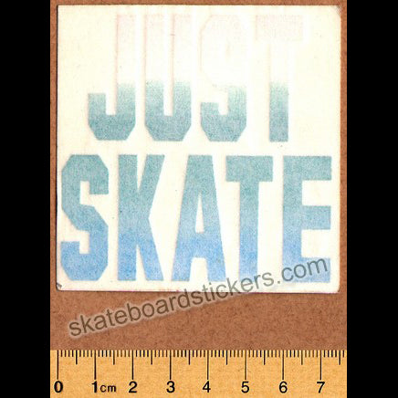 Just Skate Old School Sticker