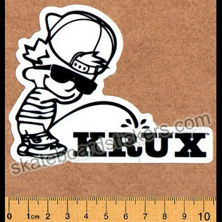 Krux Trucks Skateboard Sticker - SkateboardStickers.com