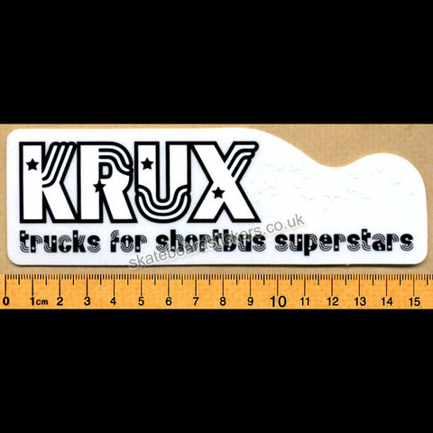 Krux Skateboard Sticker - SkateboardStickers.com