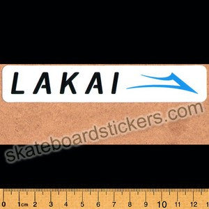 Lakai Footwear Skateboard Sticker - SkateboardStickers.com