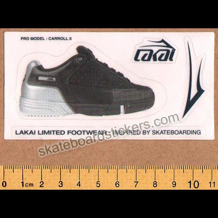 Lakai Footwear Enjoi Mini Skateboard Sticker Sheet