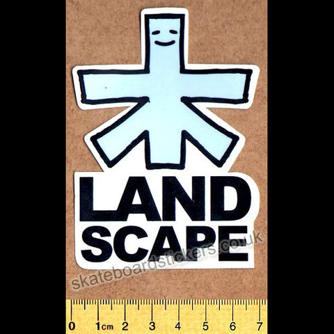 Landscape Skateboard Sticker