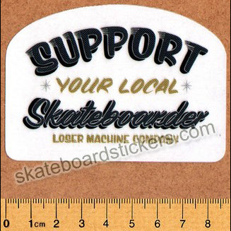 Loser Machine Skateboard Sticker