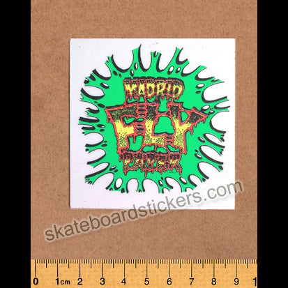 Madrid Old School Rare Vintage Skateboard Sticker
