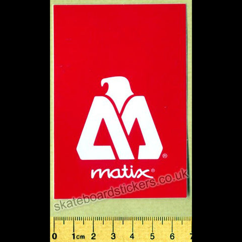 Matix Clothing Skateboard Sticker - SkateboardStickers.com