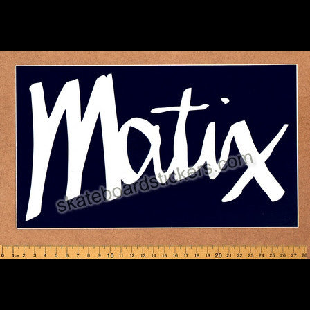 Matix Skateboard Sticker - SkateboardStickers.com