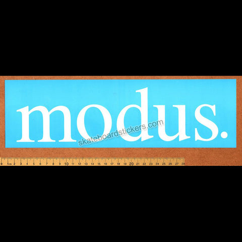 Modus Bearings Skateboard Sticker - SkateboardStickers.com