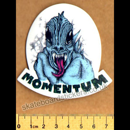 Momentum Wheels Skateboard Sticker - SkateboardStickers.com