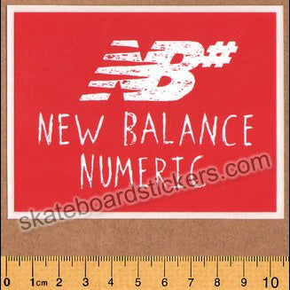 New Balance Numeric Skateboard Sticker