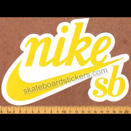 Nike SB Shoes Skateboard Sticker