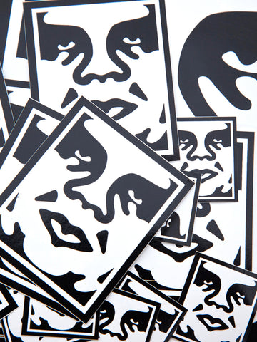 25 OBEY artwork stickers Pack based on Shepard Fariey's original artwork