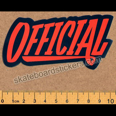 Official Skateboard Sticker - SkateboardStickers.com