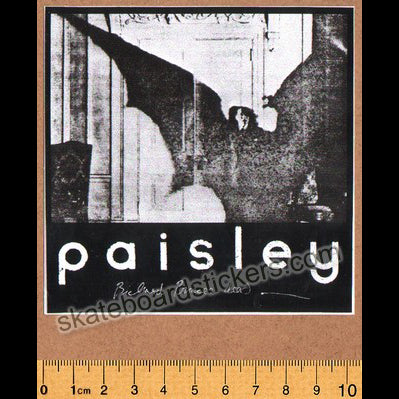Paisley Skates Skateboard Sticker
