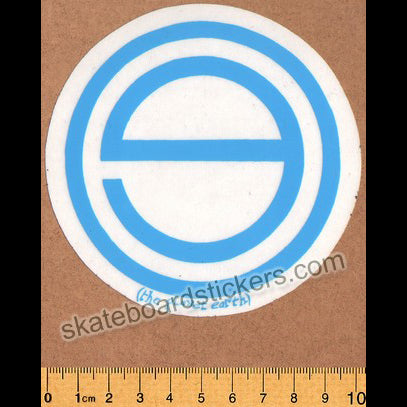 Planet Earth Old School Skateboard Sticker