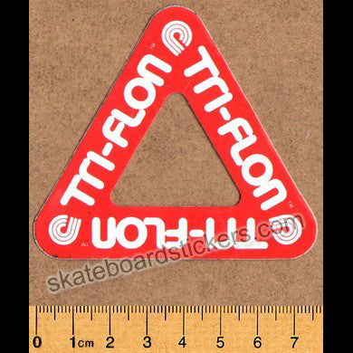 Powell Peralta Old School Vintage Tri-Flon Skateboard Sticker