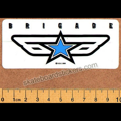 Powell Peralta Bones Brigade Old School Skateboard Sticker