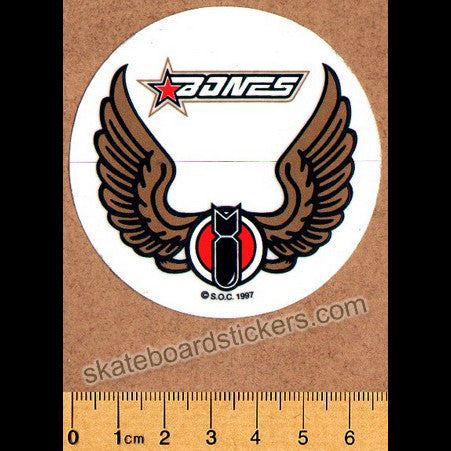 Powell Peralta / Bones Old School Skateboard Sticker
