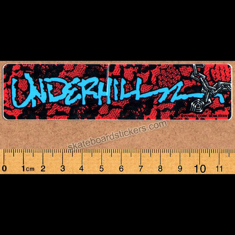 Powell Peralta Ray Underhill Old School Vintage Skateboard Sticker
